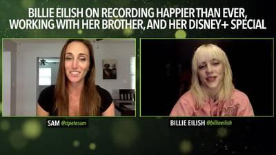 Sam interviews Billie Eilish!
