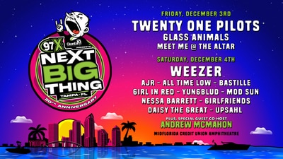 Next Big Thing 2-Day tickets!