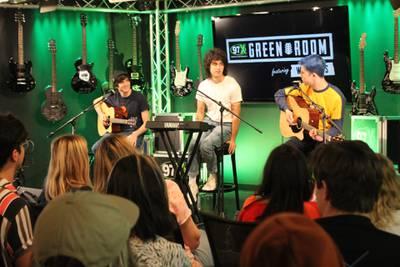Wallows Green Room Performance