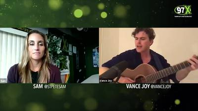 An exclusive Zoom acoustic with Vance Joy!